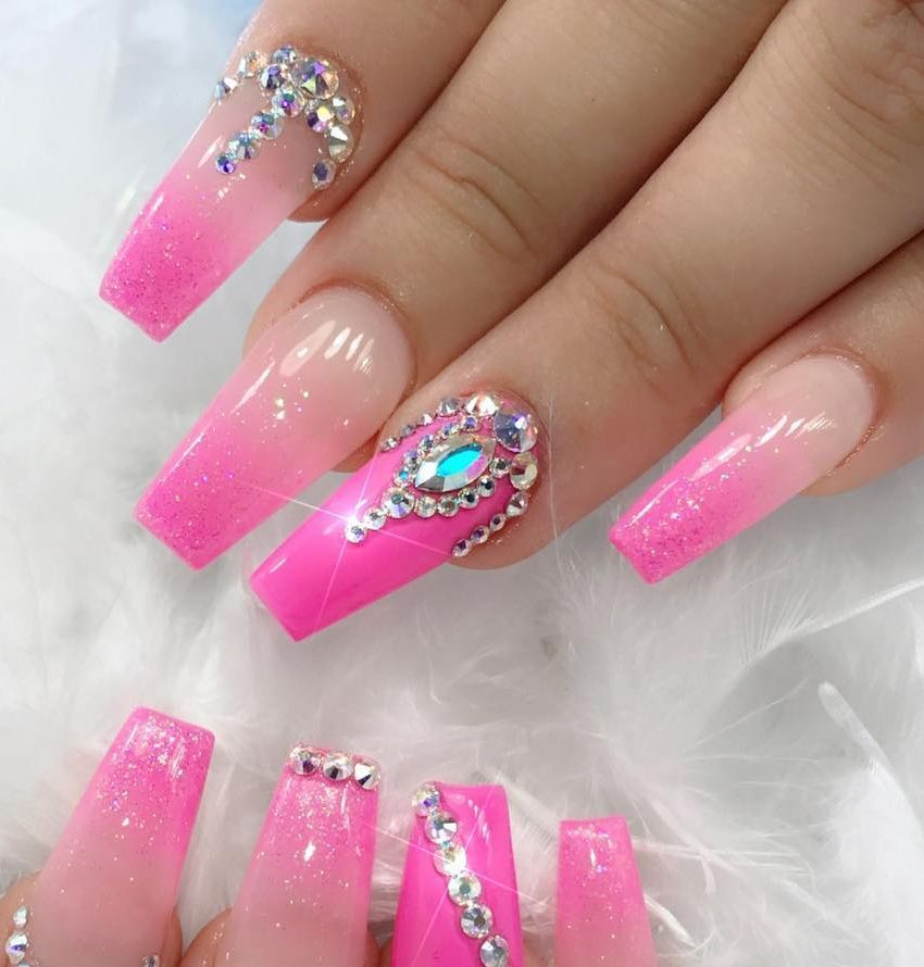 100+ Nails Art Ideas // Acrylic Nails // Fashion And Beauty Ideas ...