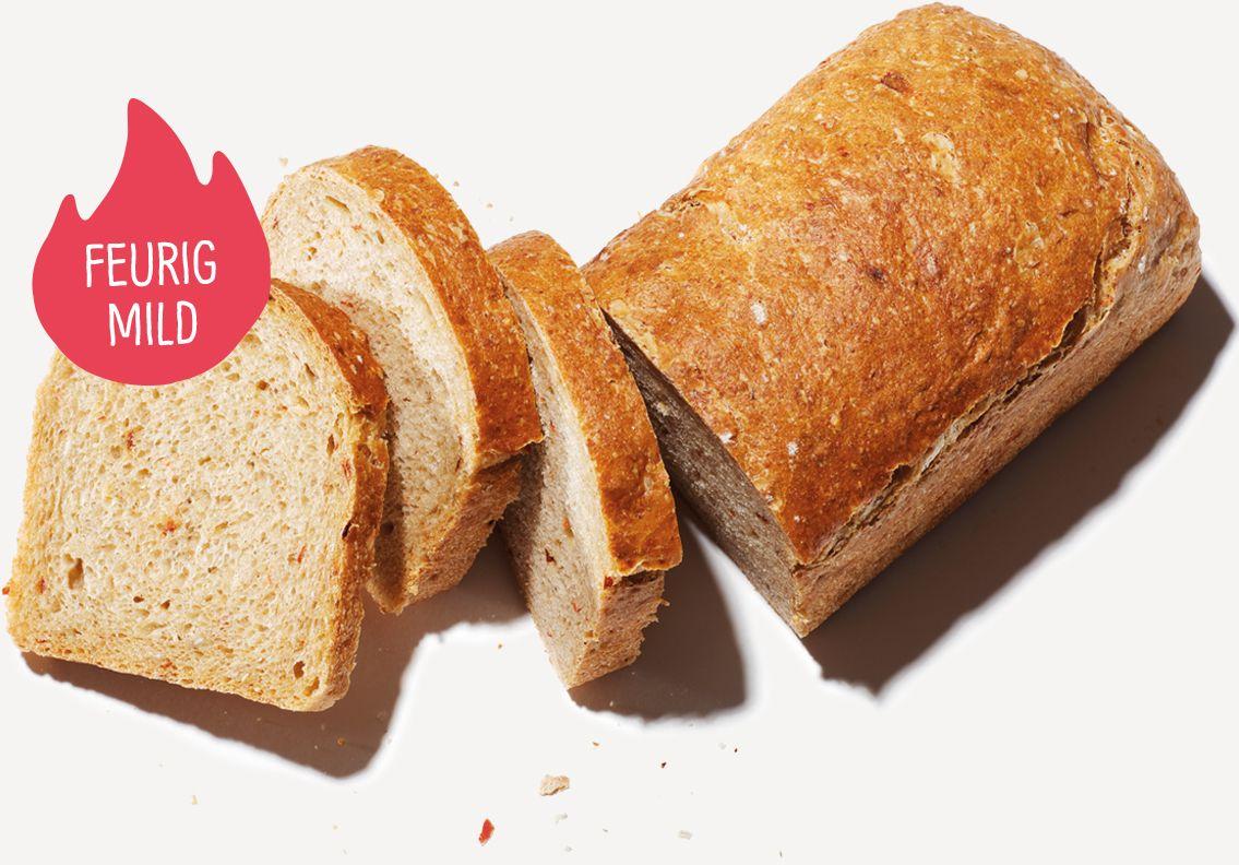 Langeweile kommt mit diesem Brot nicht auf: Chili Ingwer und ein Hauch Vanille stecken in diesem tollen Haferbrot.
