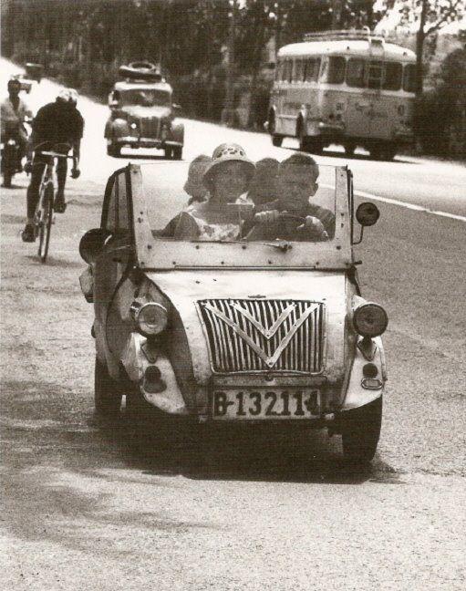 Foto: Autovia de Castelldefels 1962 #Barcelona