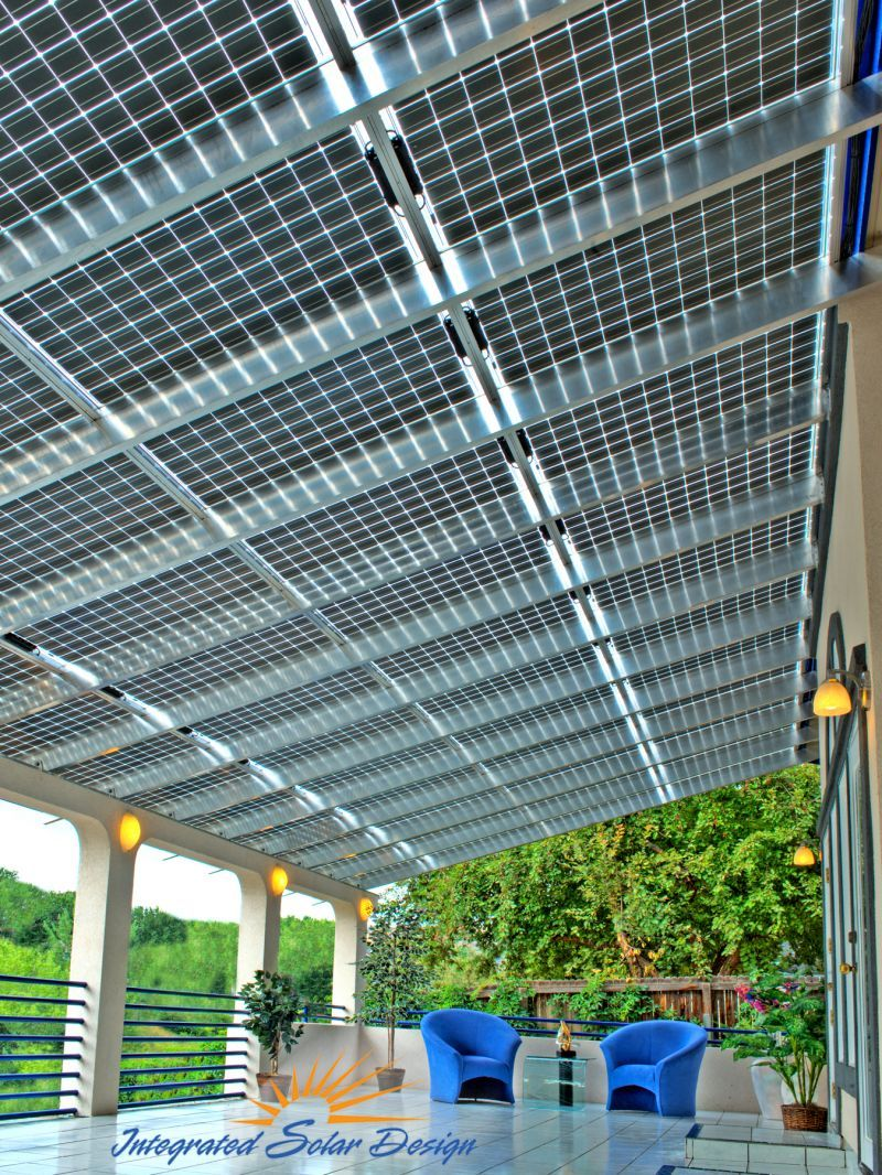Solar Awnings Would Need To Fold Up From The Top Of The Container To Serve As Shade For Performers On Top Solar Roof Solar House Solar Panels