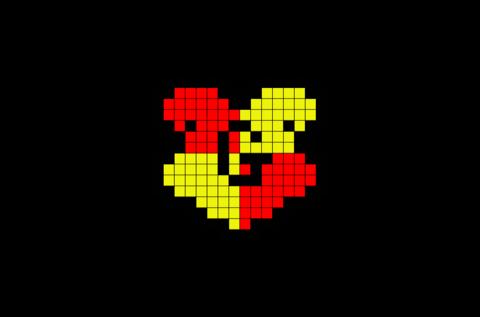 Gryffindor Logo Pixel Art Pixel Art Minecraft Pixel Art