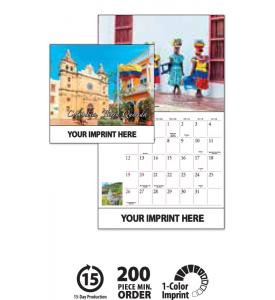 Columbia Calendar 2022.2020 Promotional Columbia Tierra Querida Calendarsproduct 5a221 Personalized Wall Advertising Calendar Custom Calendar