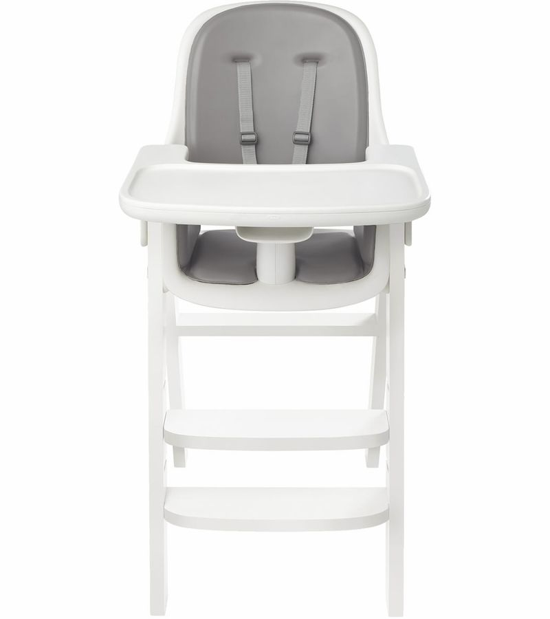 Oxo Tot Sprout High Chair Gray White Grey Chair