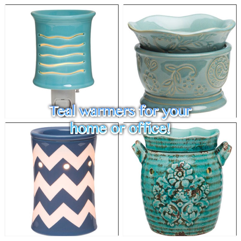 Spruce up your decor with a bright and cheery teal Scentsy warmer! What a super Spring color! https://katm.scentsy.us/