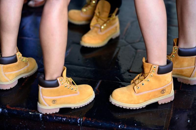timberland bottes colour wearing