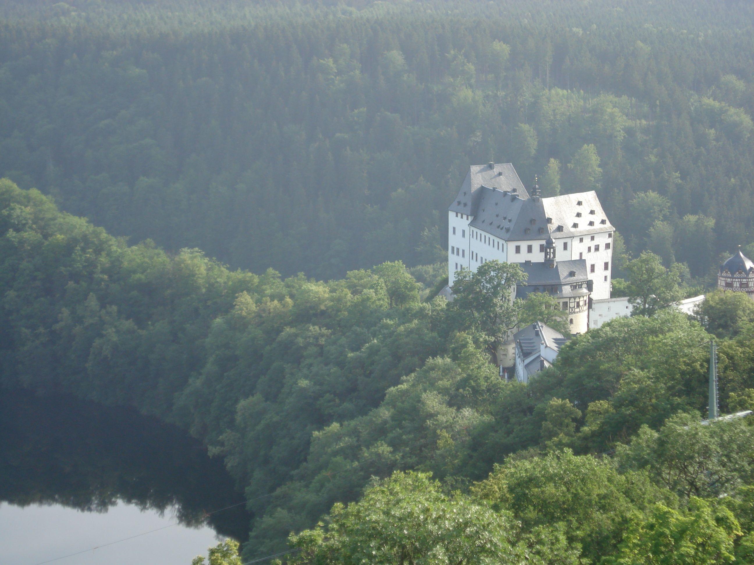 Schloss Burgk Thuringen Thuringia Castle Favorite Places