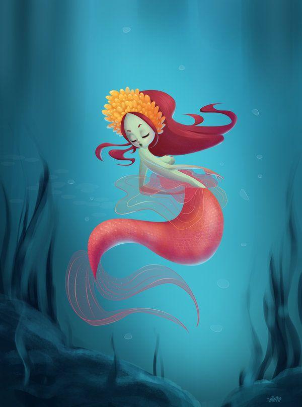 Mermaid by 0krapula0