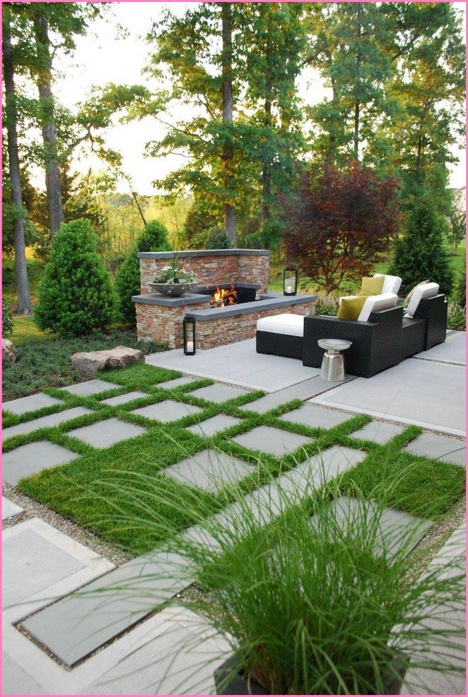20 Very Creative Garden Stone Pathway Ideas Can You Try At Garden Page 10 In 2020 Patio Garden Design Outdoor Entertaining Area Backyard Entertaining