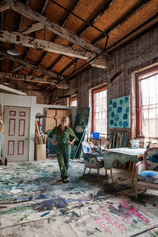 Studio Tour Kiki Slaughter Design*Sponge. Oh to be free