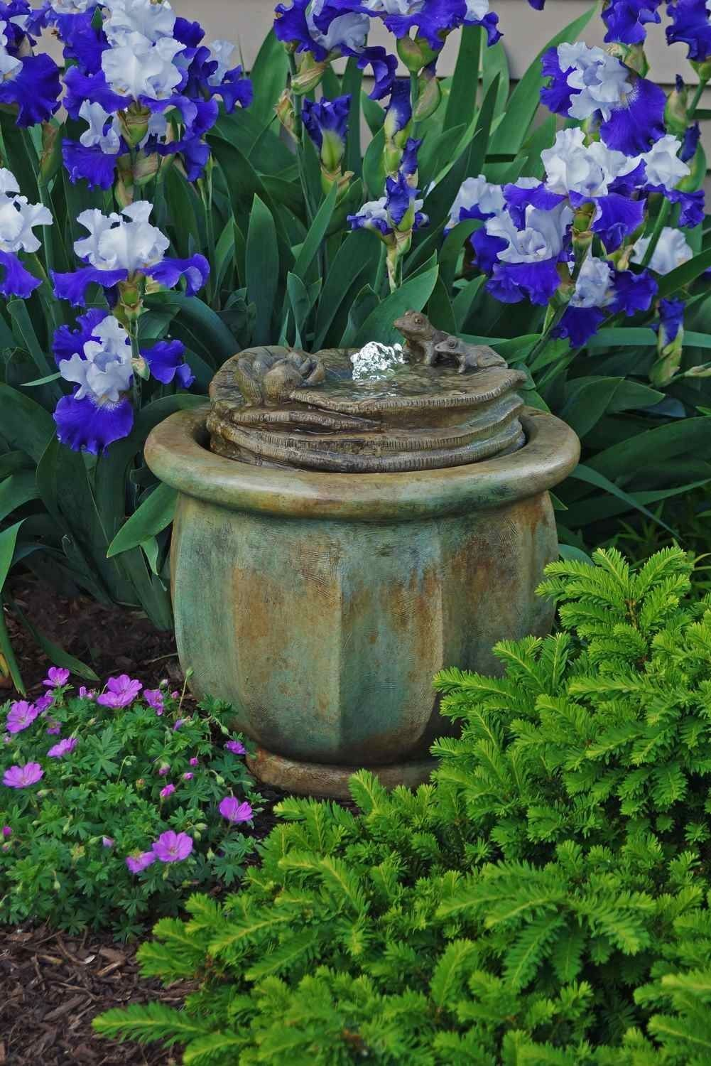 Find This Pin And More On Custom Garden Fountains.
