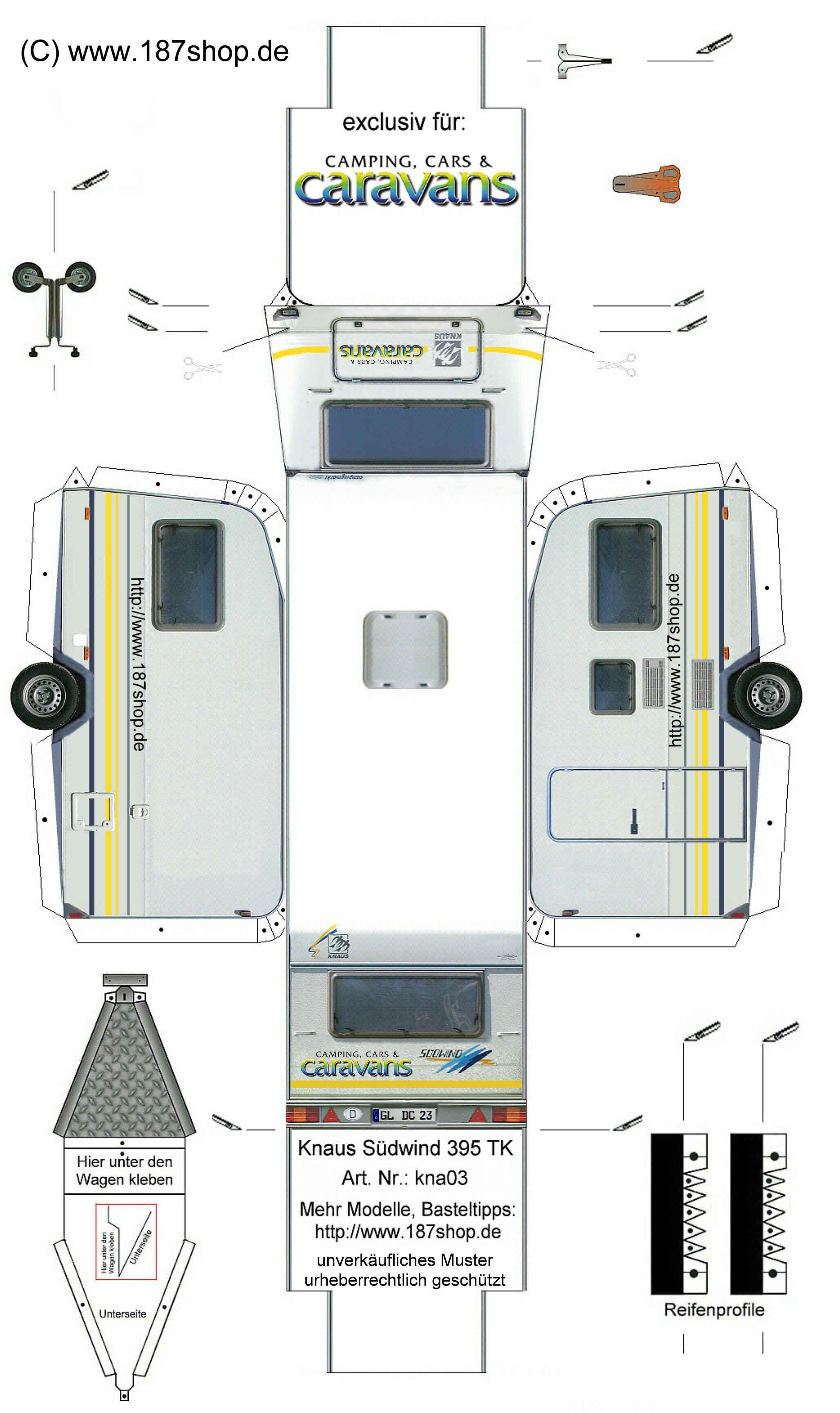M Tdunkel S 1 87 Shop Kontaktformular Wohnwagen Papiermodell Bastelbogen