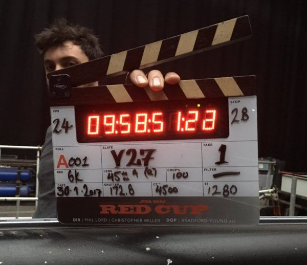 The First Photo From The Standalone Han Solo Movie