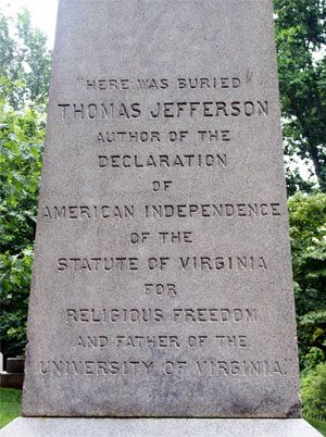 Image result for thomas jefferson tomb images