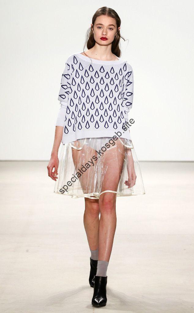 Marcel Ostertag von der New York Fashion Week Herbst 2016 ...