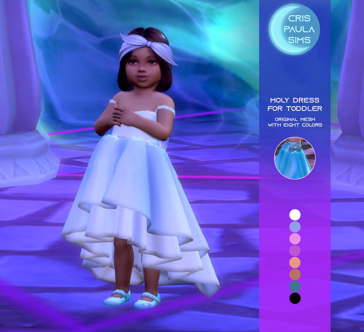 THE SIMS 4 – MOLY DRESS FOR TODDLER