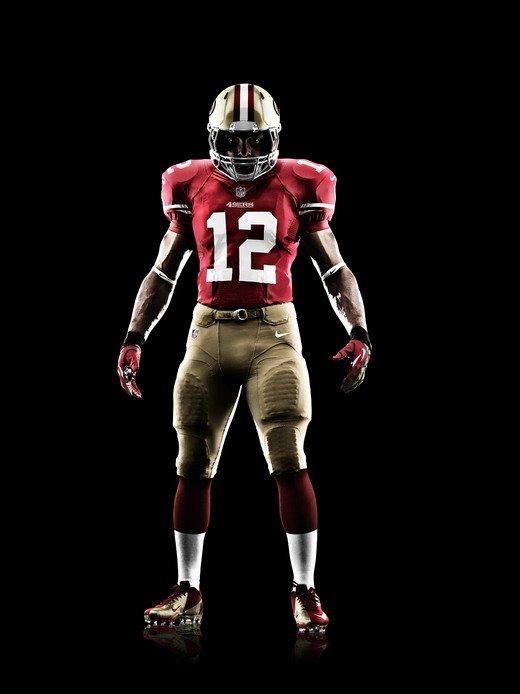 e590dee7a98a 49ers Nike Combat Uniforms