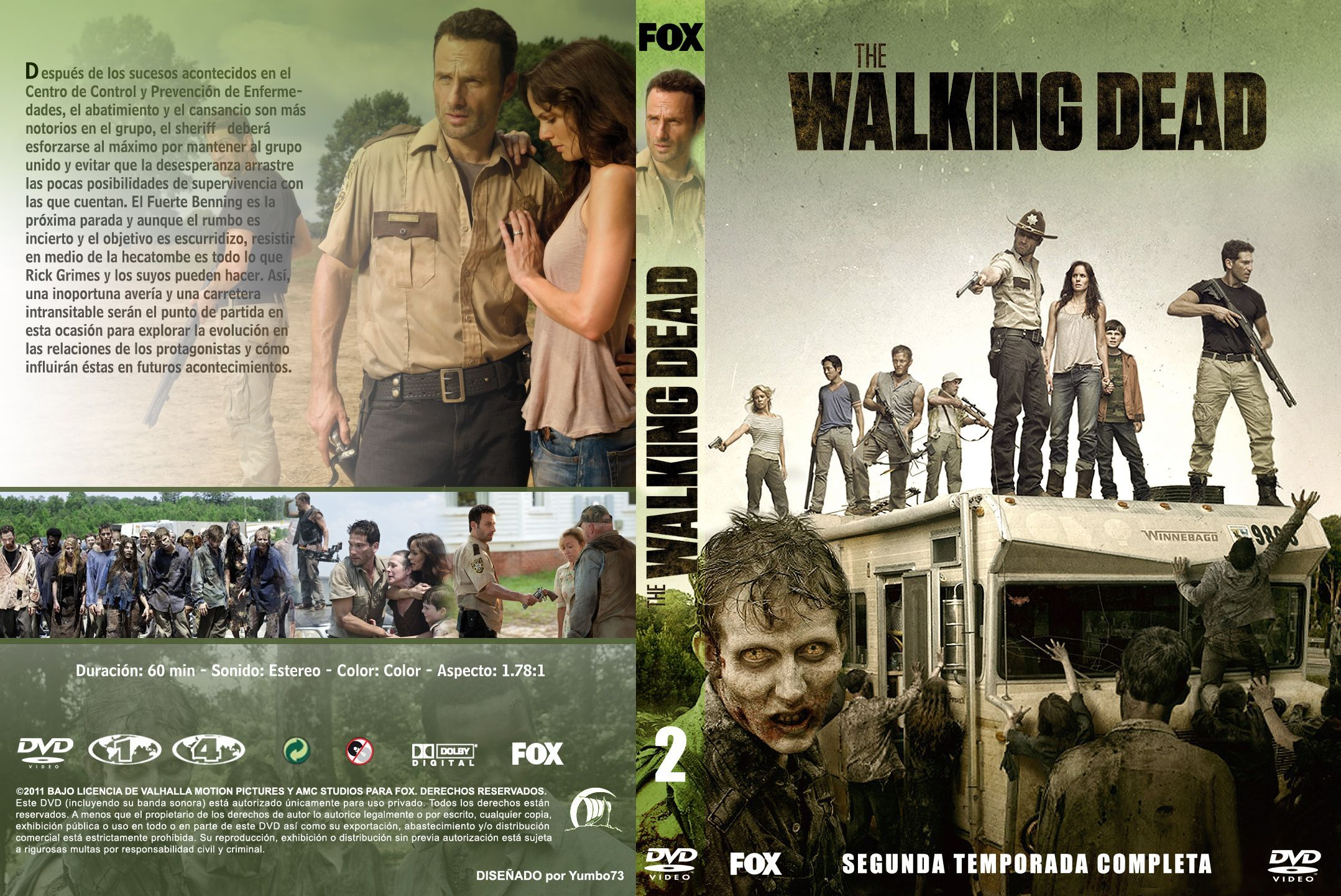 walking dead season 2 dvd | The Walking Dead temporada 2 ...