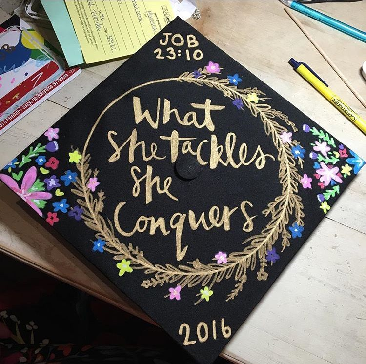 Graduation cap. Gilmore girls style. | Tried it ...