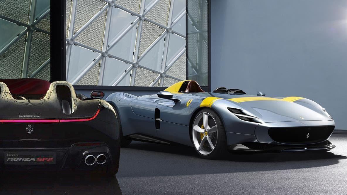 Ferrari Monza Sp1 E Sp2 Noi Siamo Leggenda Ferrari E Leggende