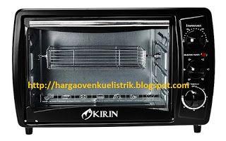 Cara Menggunakan Oven Listrik Kirin Untuk Membuat Cake Yang Matangnya Pas