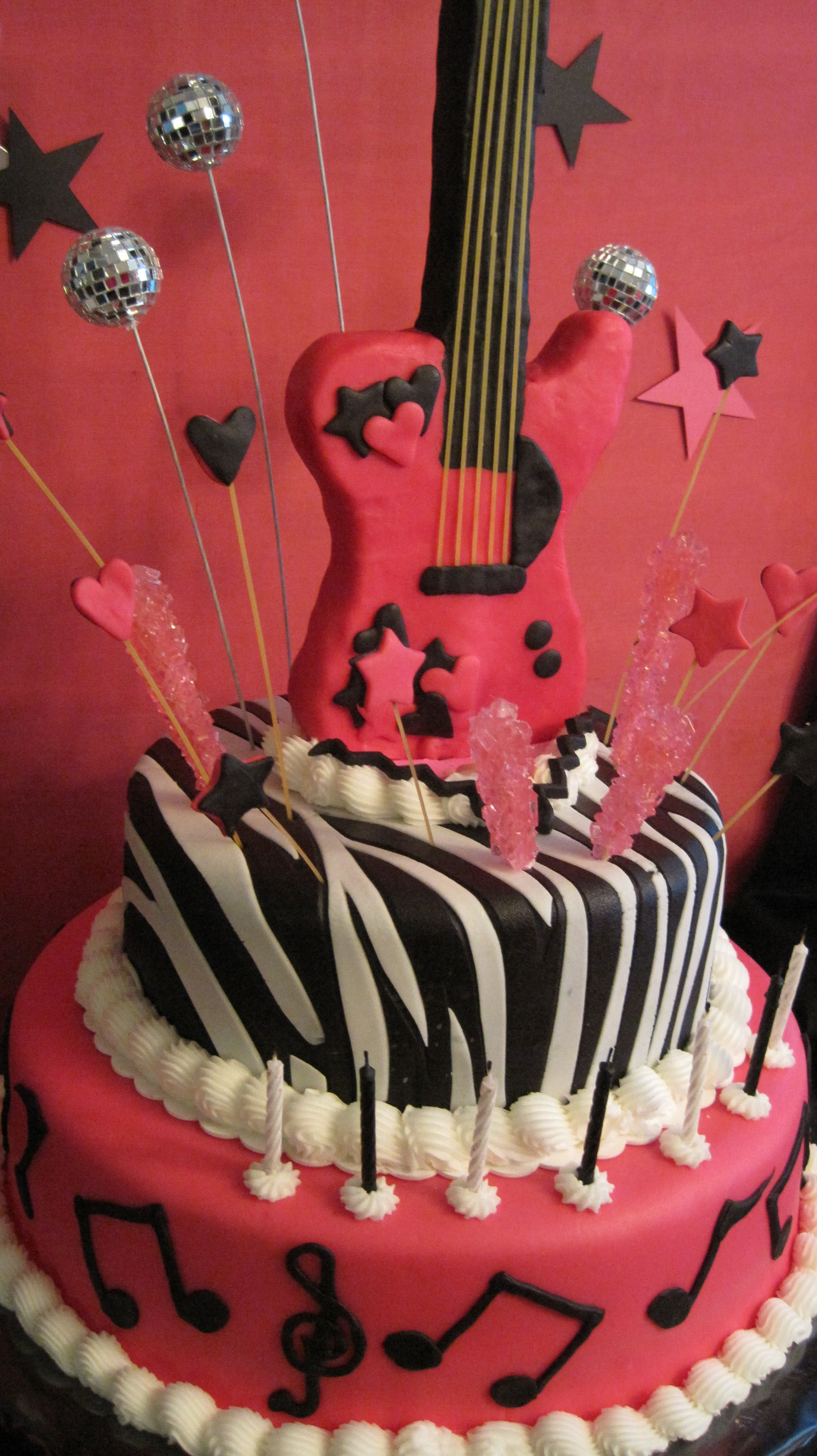 Instead of invitations to a rock star party | Rock n roll bday ...