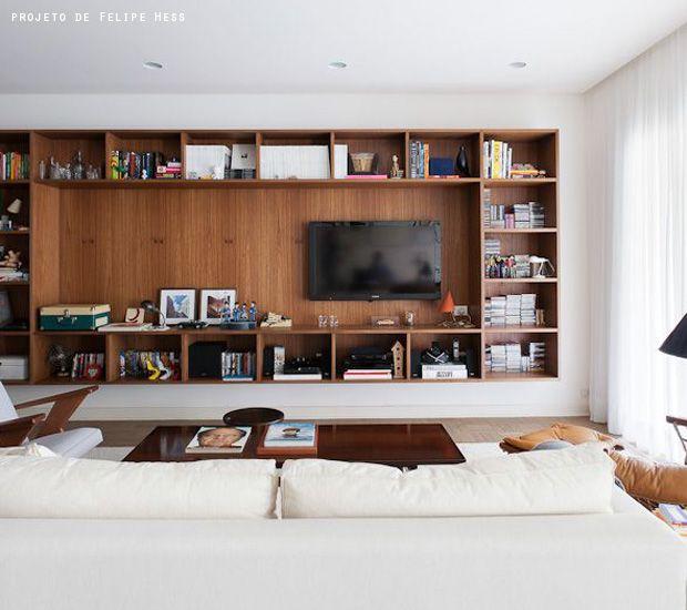 """variation, more shelves, """"hide TV"""""""