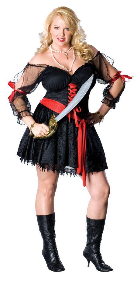 Sexy Pirate Siren Plus Size Halloween Costume | Sexy, The sword ...
