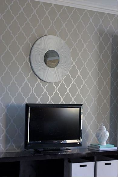 wall paint stencil on pinterest