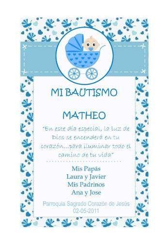 7bb25b46c823c Tarjetas Para Bautismo Imprimibles -   100