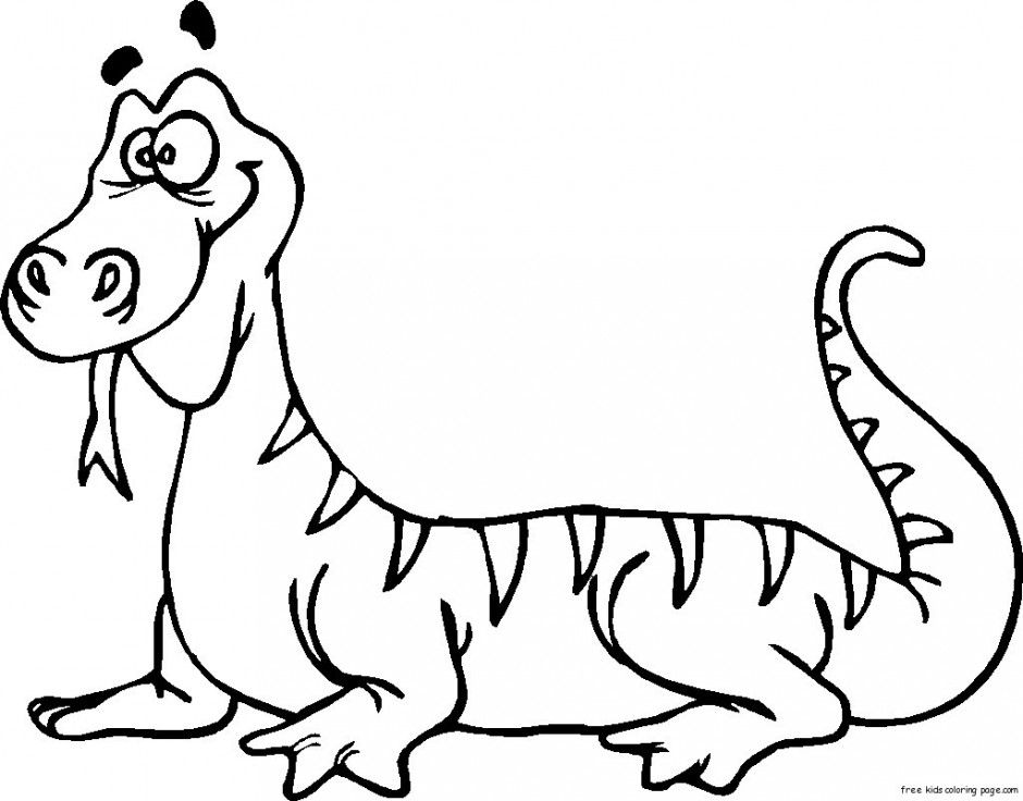 Lizard Coloring Pages Baby Lizard Coloring Pages Kids Coloring