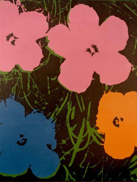 Fiori Warhol.Andy Warhol Fiori Olio Su Tela 1964 Unicredit Art Collection