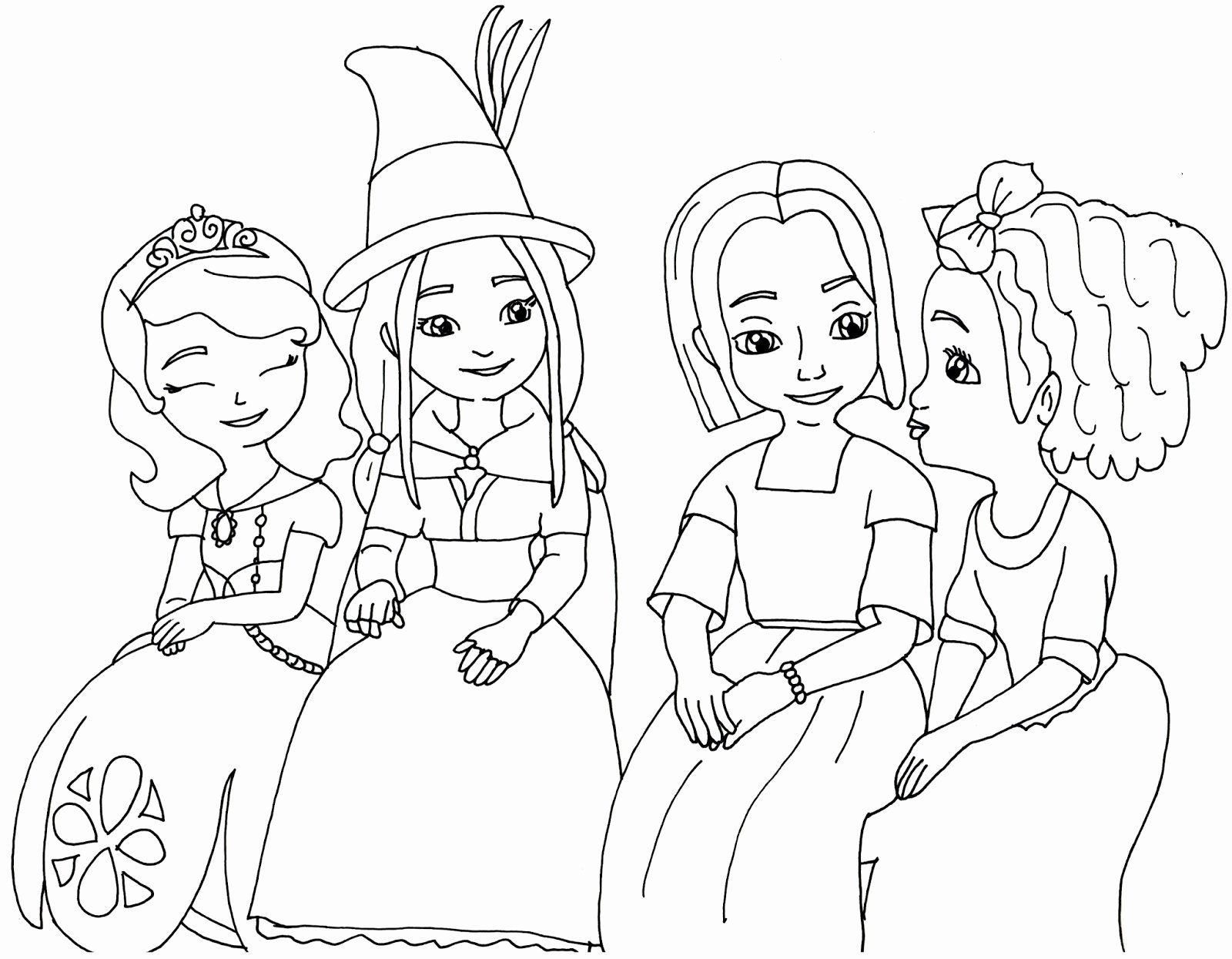 Sofia The First Coloring Book Luxury Sofia The First Coloring