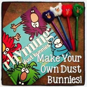 Dust Bunnies Made It Giveaway Included 4th Grade Frolics Bunny