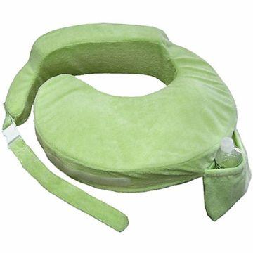 My Brest Friend Deluxe Wearable Nursing Pillow In Green