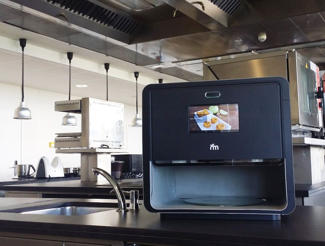Foodini is the first 3D printer to print all types of real