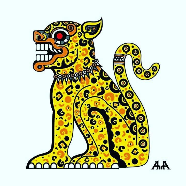 Maya Jaguar: #jaguar #balam #adriarte #adrian_acosta_meza