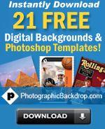 photo shop templates