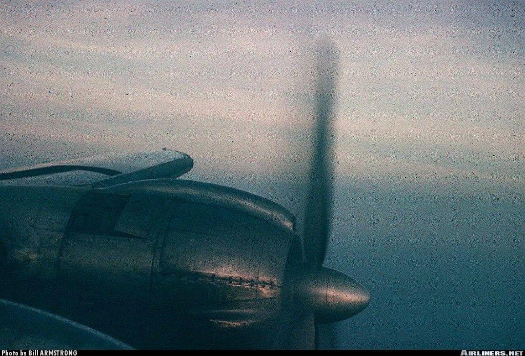June 1, 1958 aboard a TWA Lockheed Constellation enroute BOS to LGA or IDL.