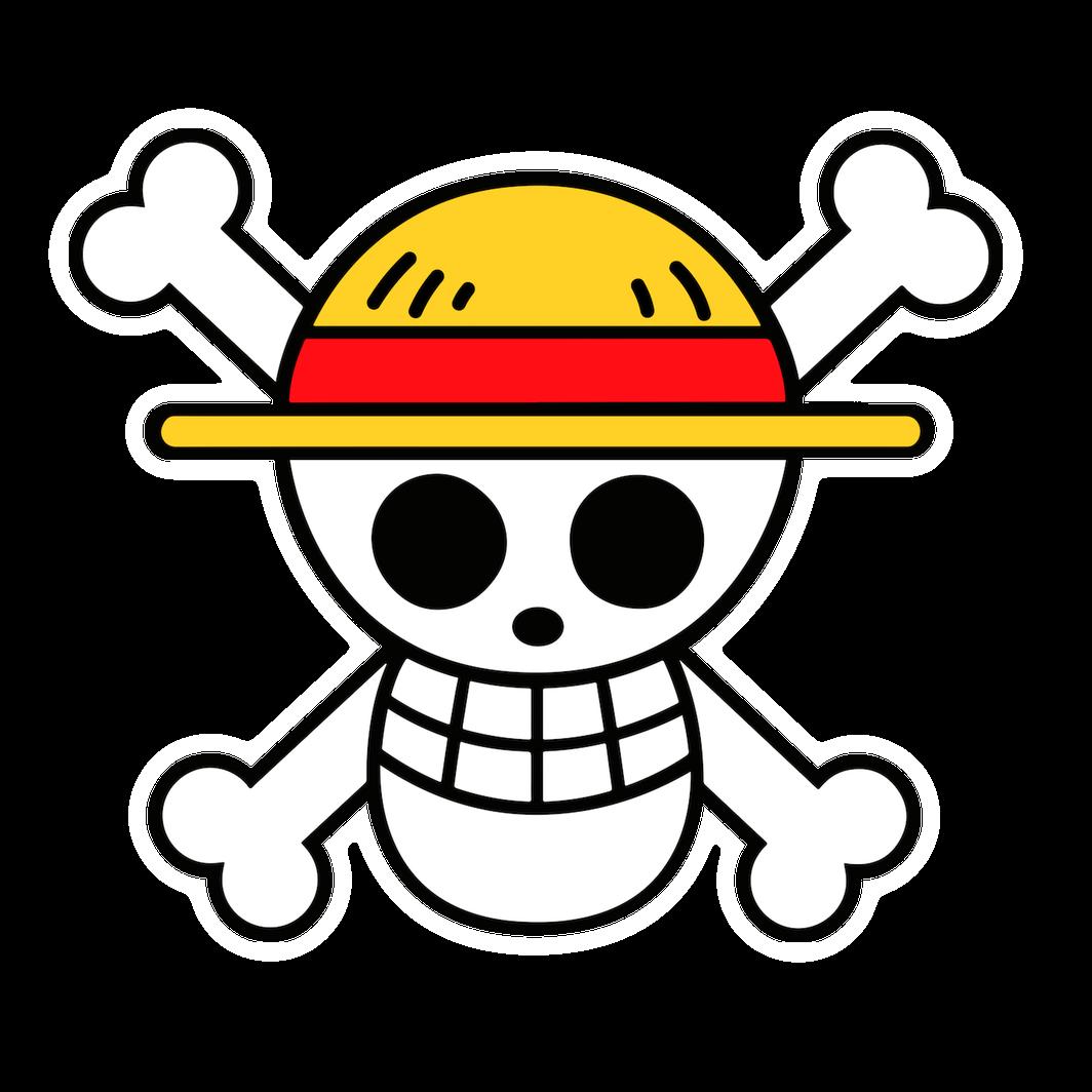 One Piece Straw Hat Pirates Luffy Symbol Sticker Tatuajes De One Piece Monkey D Luffy Pegatinas Kawaii