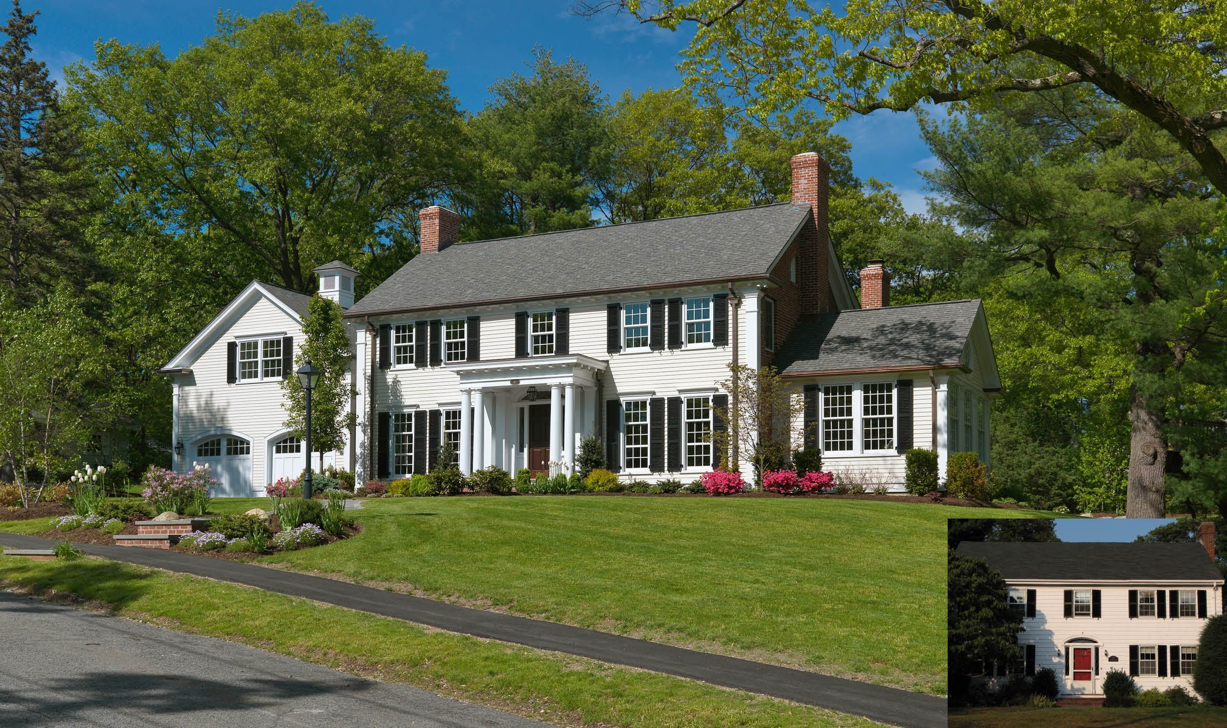 Pin By Tracy Hornaday On Curb Appeal Colonial Exterior Colonial Style Homes Colonial House