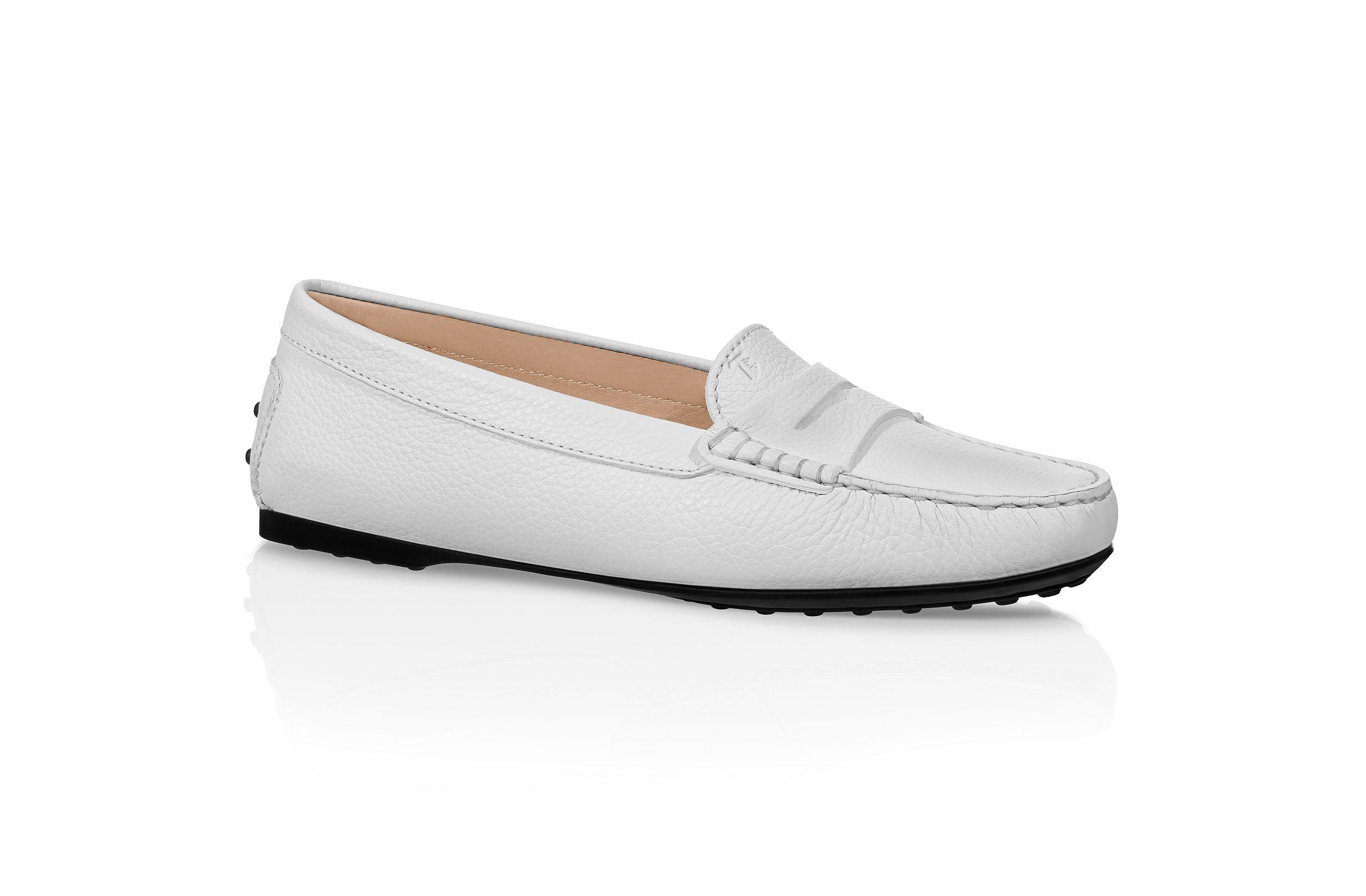 b558fb5c14e City Gommino Leather Loafers XXW0LU000105J1B015