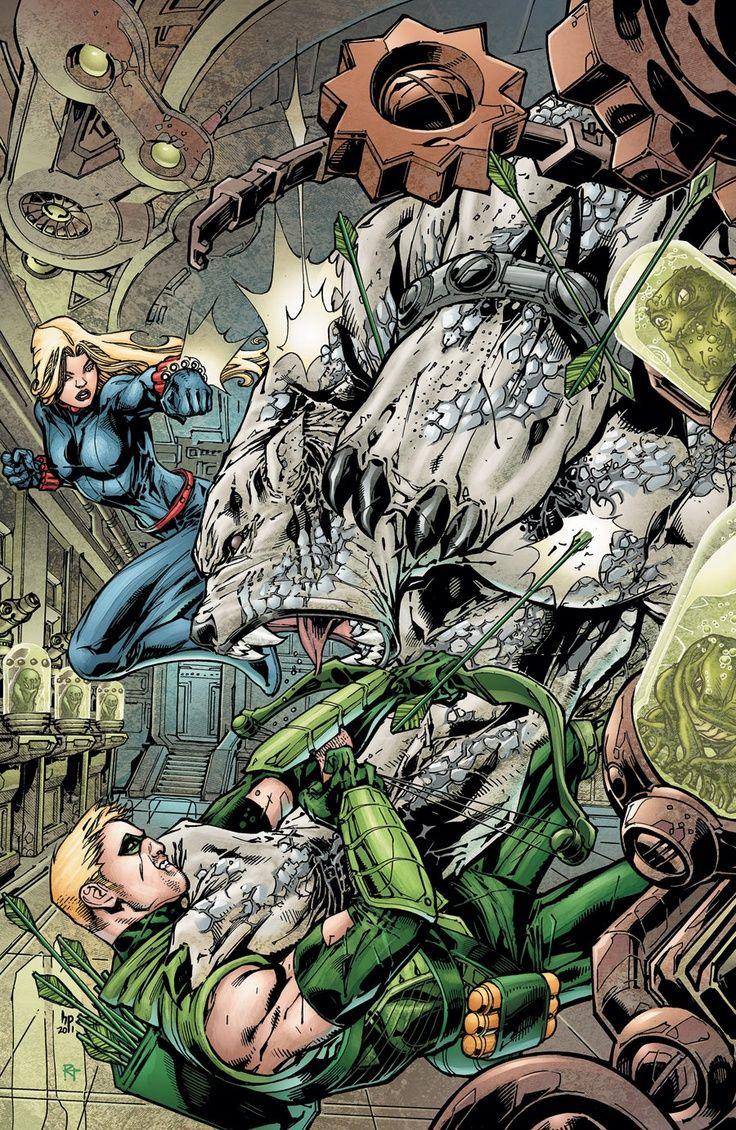 #Green #Arrow #Fan #Art. (Green Arrow #8) By: HOWARD PORTER.