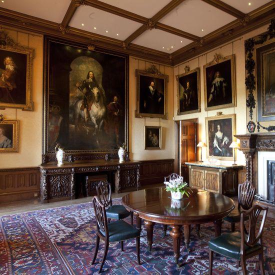 Downton Abbey Highclere Castle Interiors Tour Film Z