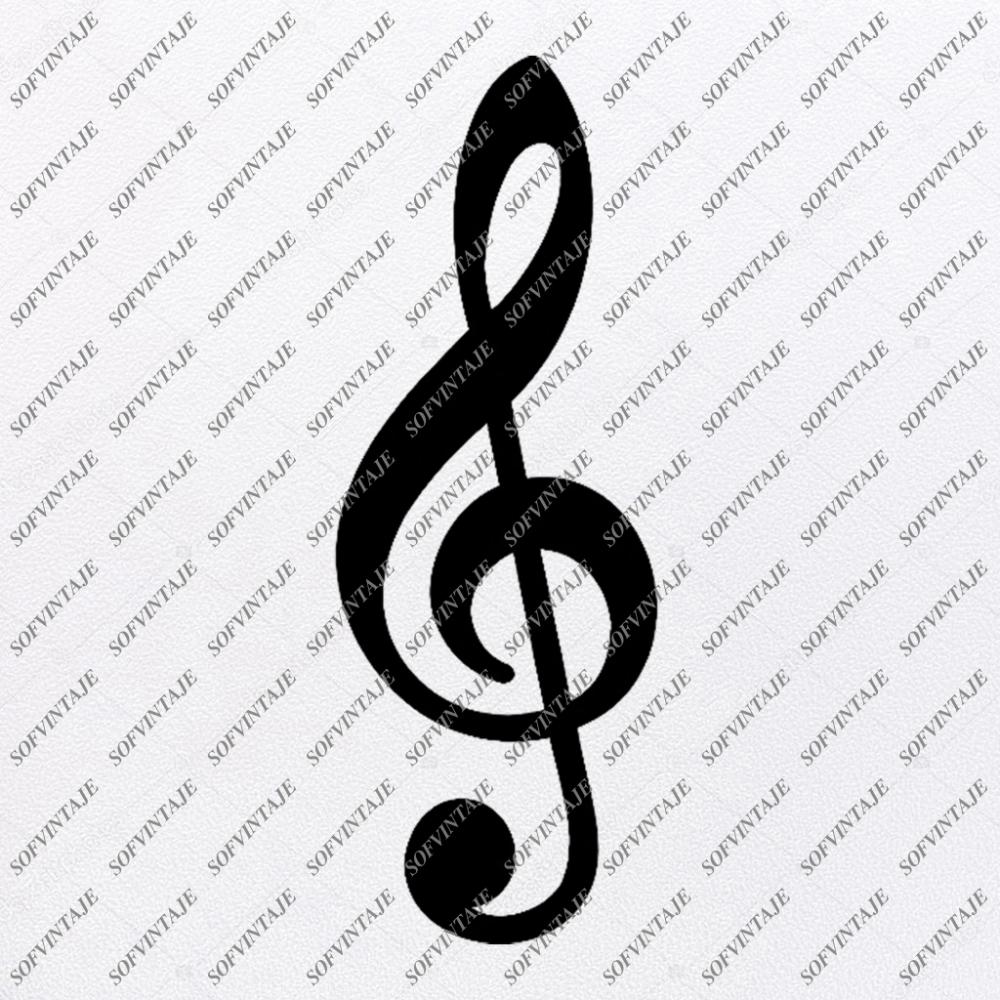 Music Note Svg FileMusic Svg DesignClipartMusic Svg