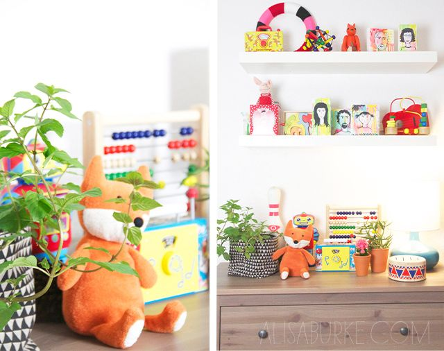 alisaburke: a peek inside Lucy's playroom
