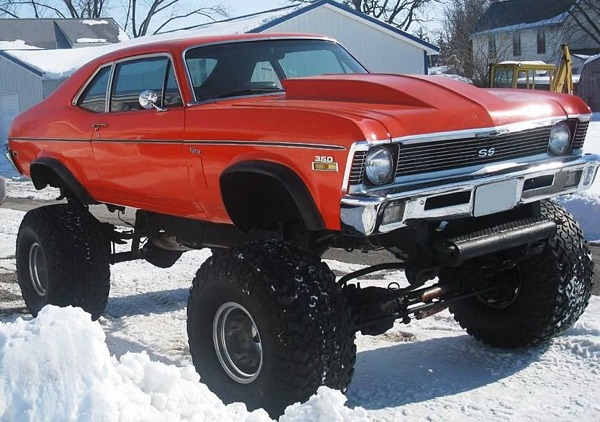 Pin by Judge on Bad A$$ 4x4 | Pinterest | Chevy nova, 4x4 and ...
