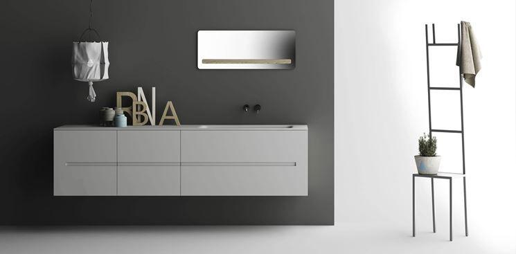 Mobili bagno moderni sospesi | Arredo Bagno | Pinterest