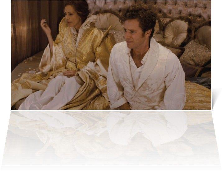 Julia Roberts' Gold Robe/Dressing Gown - Mirror Mirror