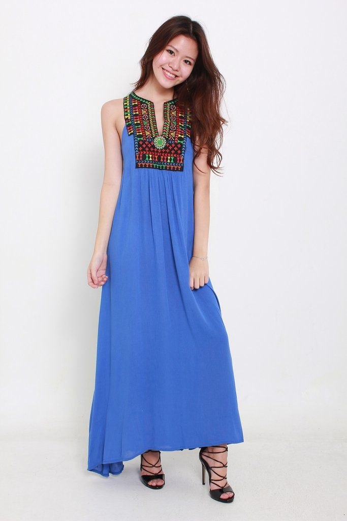 CHARLIE AZTEC MAXI available from www.bellablizz.com