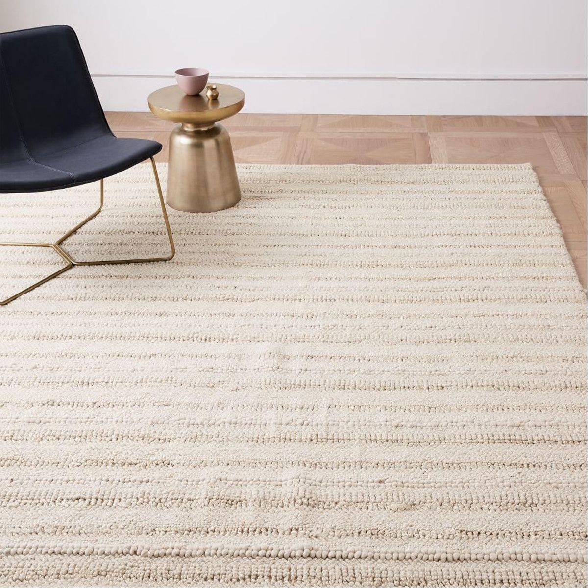 West Elm Stitched Mix Sweater Rug Ivory Rugs Home Rugs Cream Bedrooms